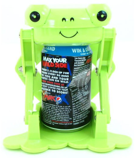 Frog can crusher post