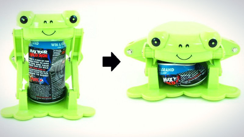 Frog can crusher review