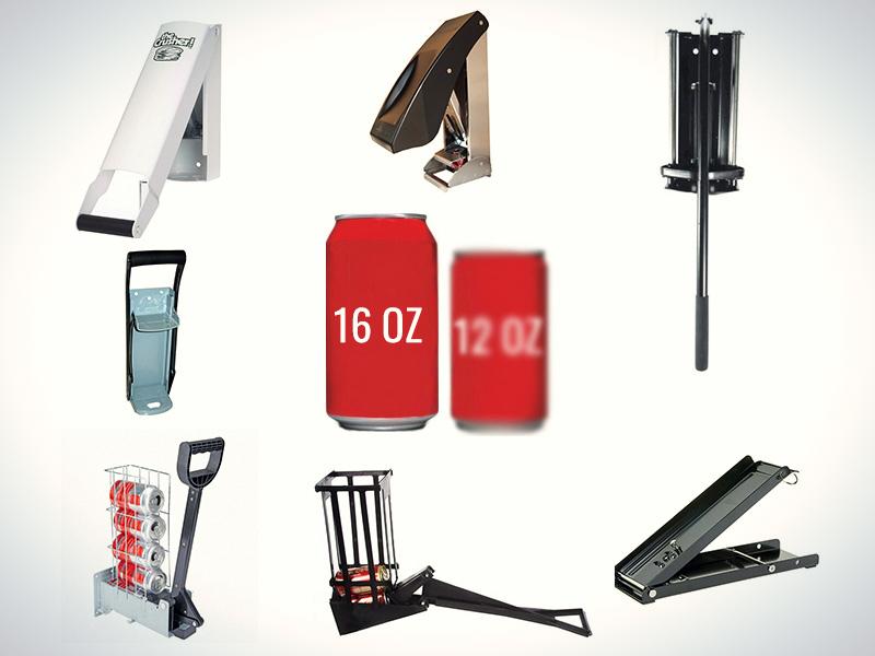 Best 16 OZ Aluminum Can Crushers