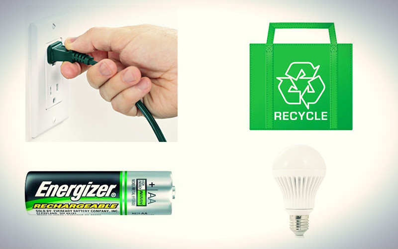 Other actions besides recycling that helps the environment