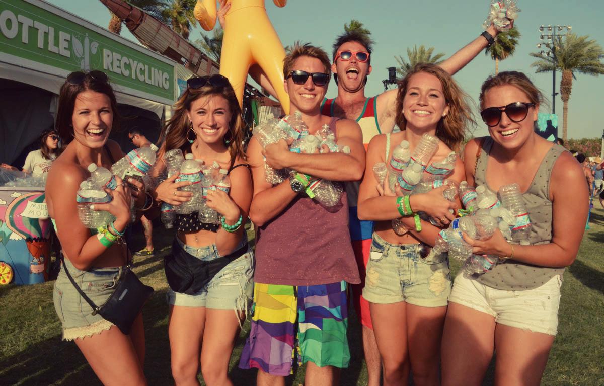 Recycling festivals